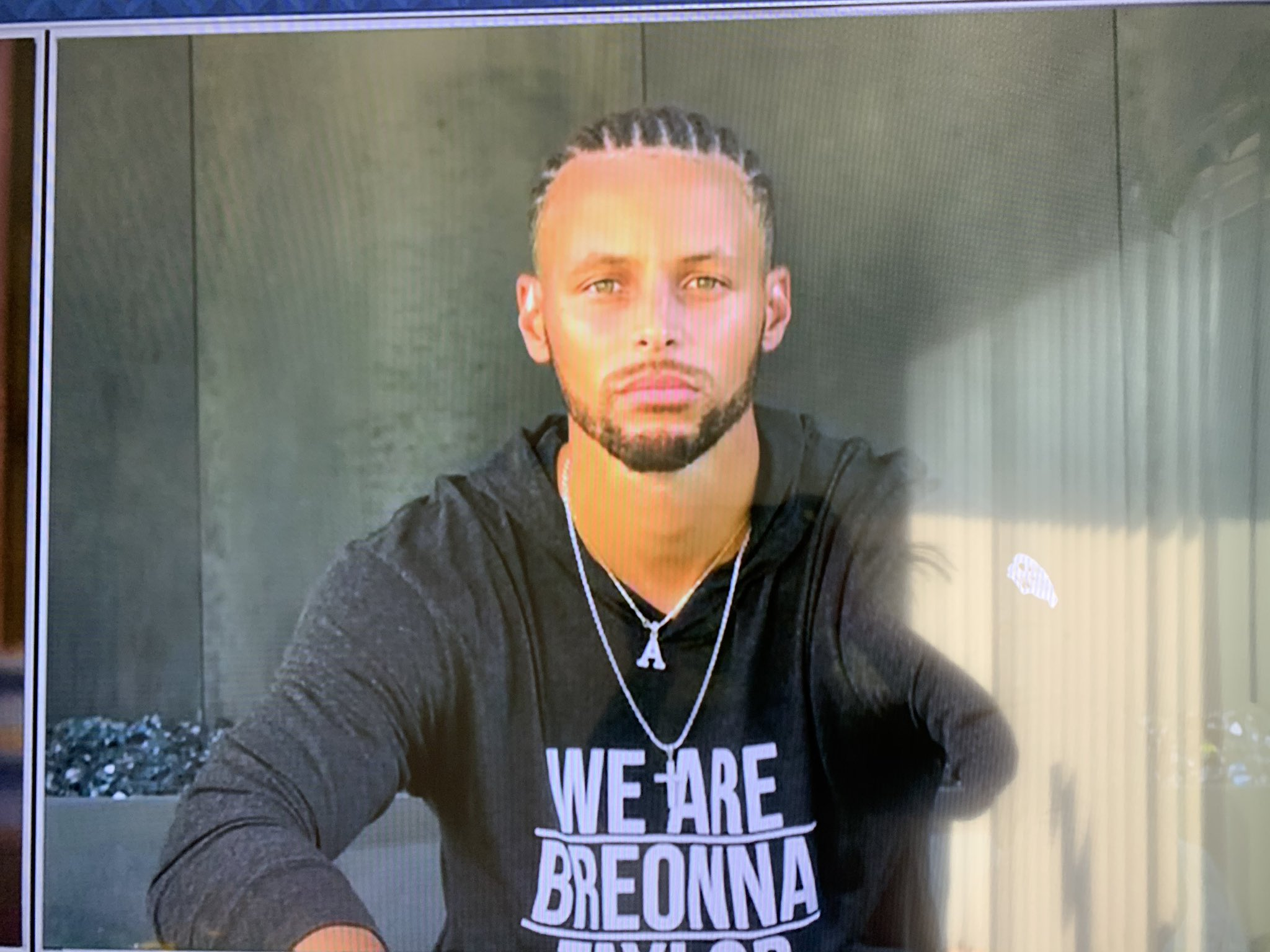 Brother On Twitter Wait Since When Steph Curry Had Braids Nbadraftlottery