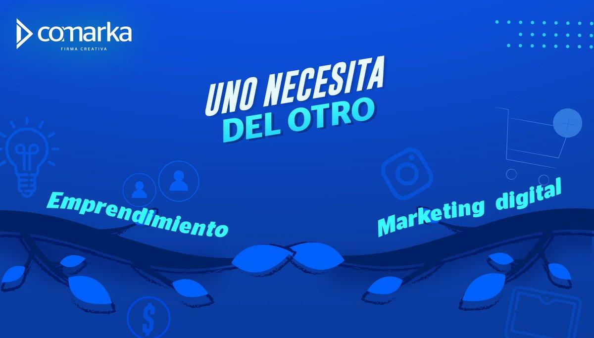 ¿Estás por emprender? Sí o sí, necesitas marketing digital.👇🏻 ✅Da a conocer tu negocio. ✅Acércate a tus clientes potenciales. ✅Obtén estrategias exclusivas para tu marca. ✅Vende mucho más. ¡Contáctanos! 📲 #SomosComarka #FirmaCreativa https://t.co/ISidabw0WD