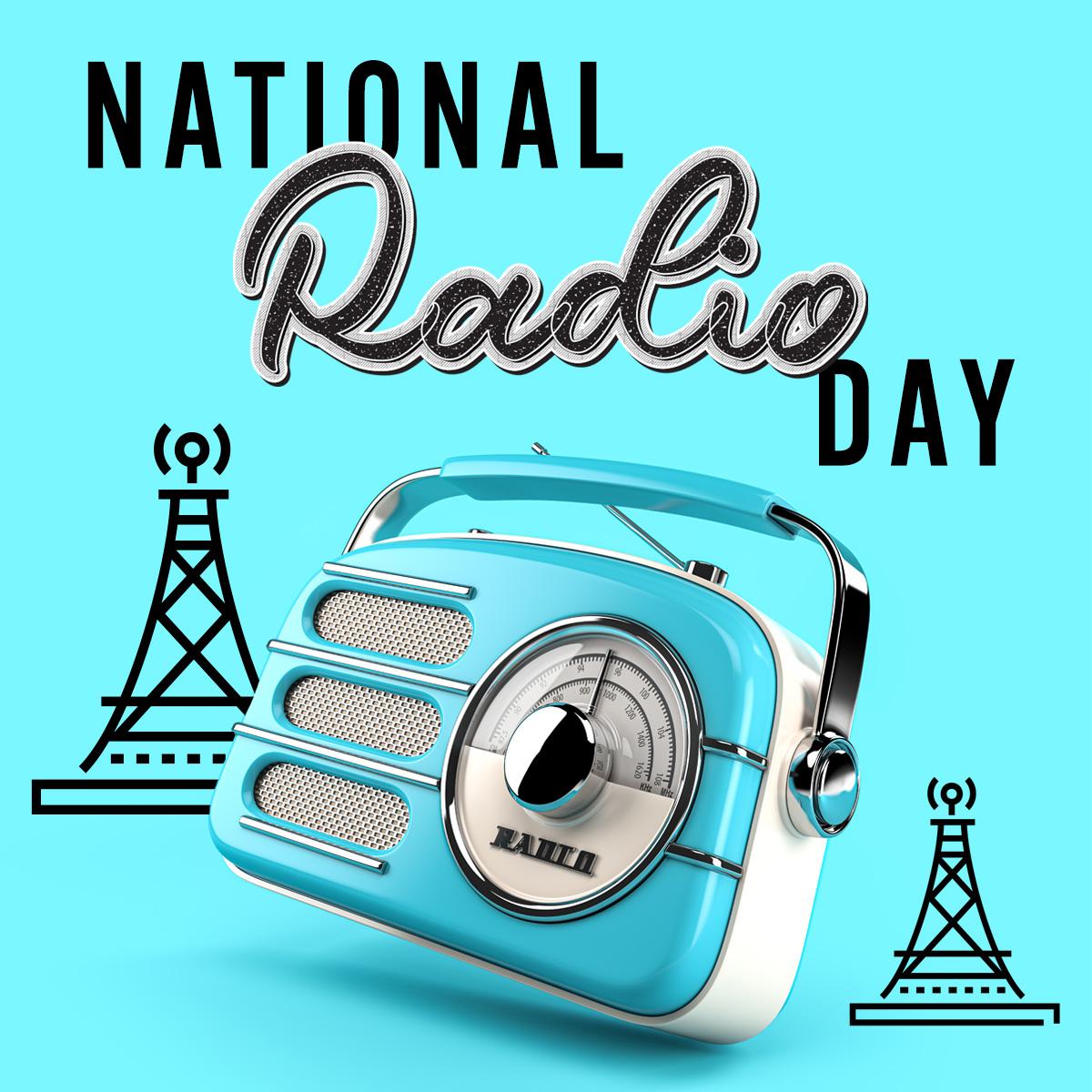 Happy #NationalRadioDay! 📻🎶