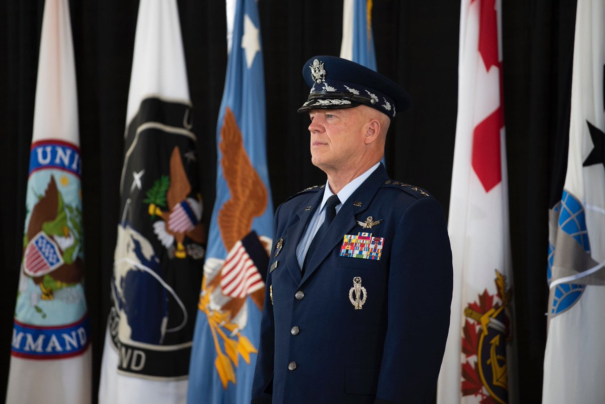 Today, I relinquished command of @US_SpaceCom. My sole focus is now @SpaceForceDoD, providing the men & women I've had the privilege to lead w/the capabilities, training & support they need to accomplish their warfighting mission. I promise to give it my all! #SemperSupra
