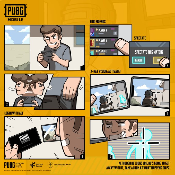 pubg mobile anti-cheat: 2.2 million accounts banned for hacking