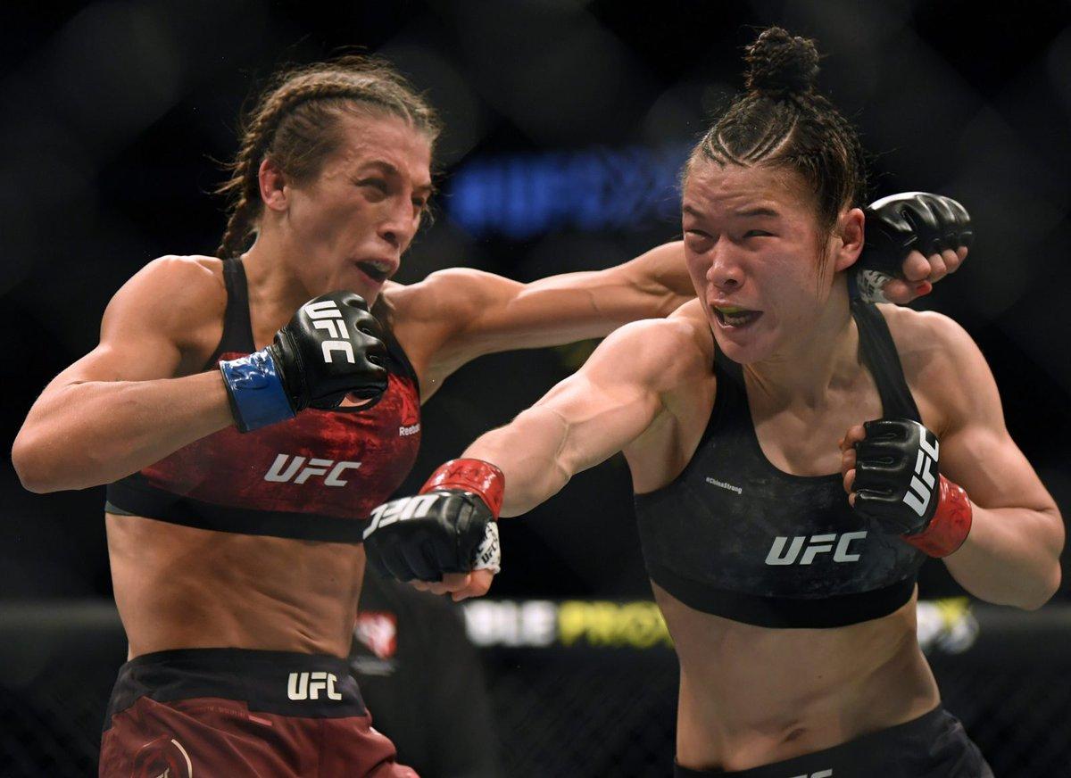 @mmagonewild Zhang Weili vs. Joanna Jedrzejczyk  #UFC248 https://t.co/1ztR4ZhukQ