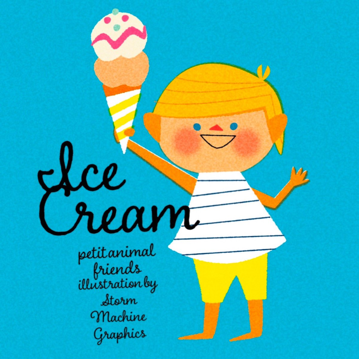 アイス食べたいー #ラクガキ https://t.co/hXCAfSTtRy