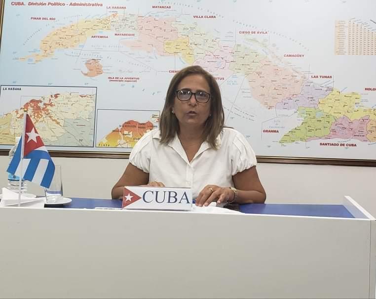 Ministra de Finanzas y Precios destaca medidas de Cuba para enfrentar la pandemia