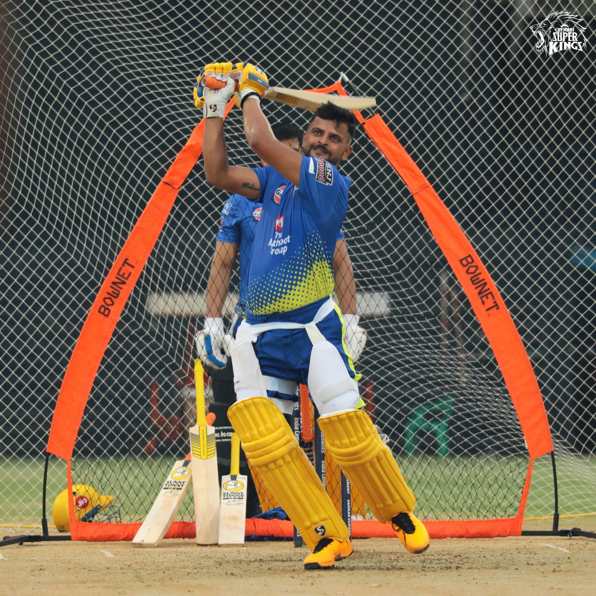 Suresh Raina- Pre IPL practice