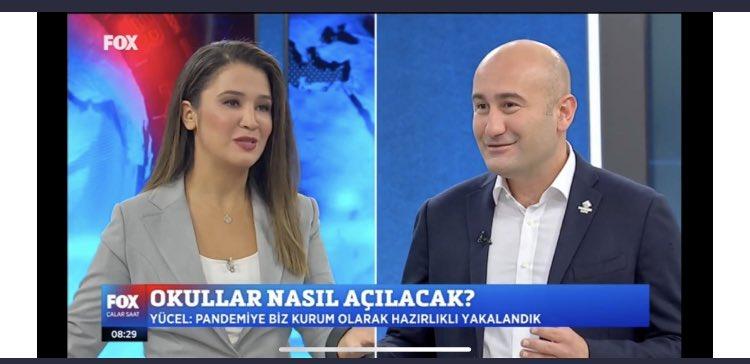 """İcra Kurulu Başkanımız Sn @HuseyinYucell, @FOXhaber 'de """"Yapay Zeka Tabanlı Kişiye Özgü Öğrenme Platformu @metodbox'a Entegreli Görüntülü Konuşma sistemi @seemeetlive Eğitim Entegreli İlk Yerli ve Milli Görüntülü Konuşma Platformudur"""" #TürkiyeninverisiTürkiyedekalacak https://t.co/uFiq0EY9sB"""