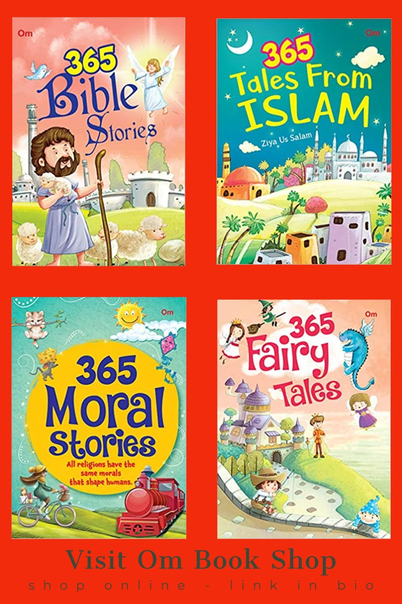 Stories don't just transport us into a world of imagination; they teach us life lessons too. 365 Stories bring forth a special story for each day of the year and a lesson to learn with it. Immerse your kids into the wonderful world of stories. Link - https://t.co/oWvKwbNNT3 https://t.co/LtZOSdhXgc
