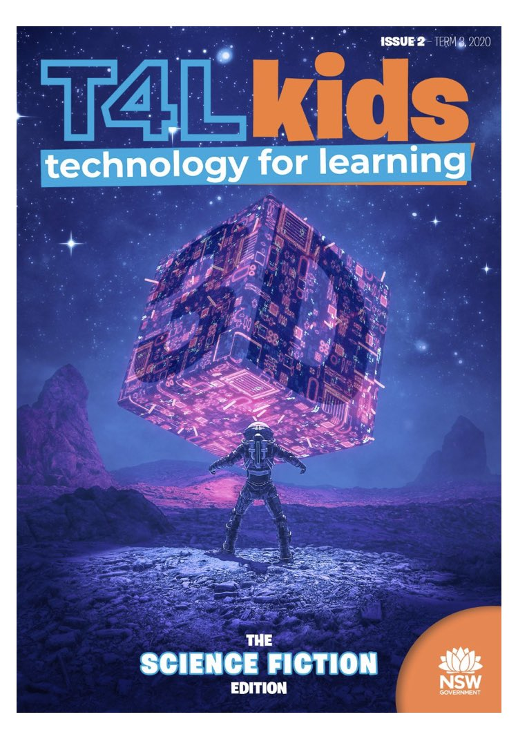 T4L kids mag is now live! This one will challenge your students with 3D design. https://t.co/PqT7yDygne https://t.co/2zlv8I5hqt