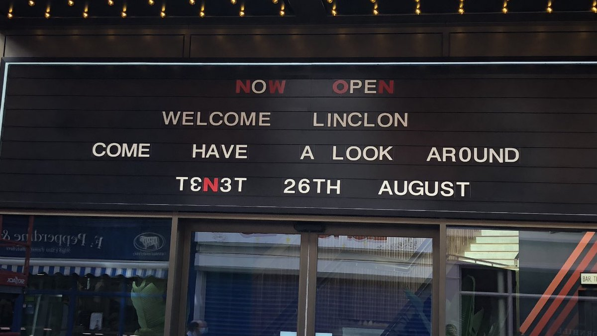 Eagle eyed @RGransden85 has pointed out there's a bit of a misspelling at the new Everyman in the Cornhill Quarter... 🤣🤣🤣 #WelcomeLinclon https://t.co/DNSbaex1gm