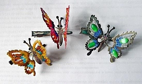 Заколка бабочка из 90 кордуры 1000