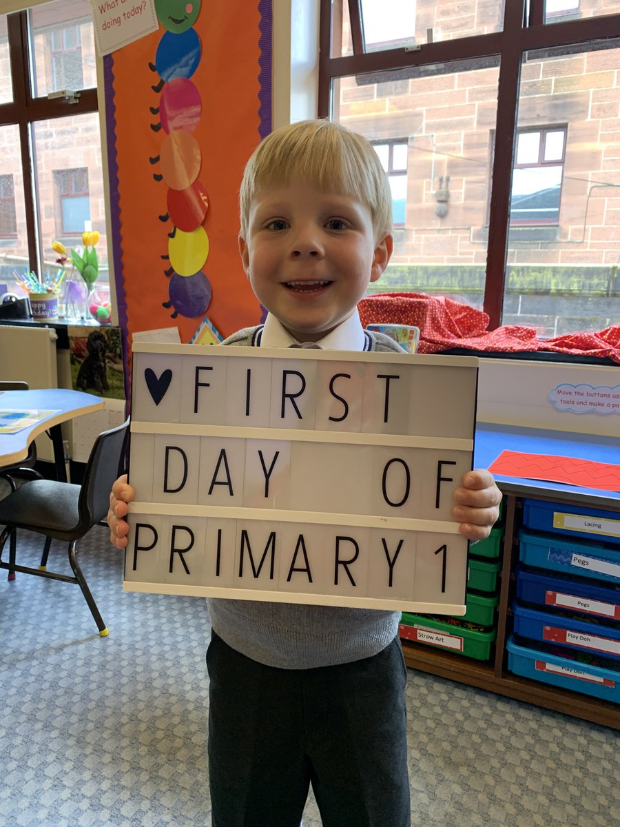 Our P1 pupils have settled in well and have had lots of fun getting to know each other and making new friends. #SchoolValues #Curiosity #Belong #Flourish #Achieve https://t.co/VAbemrW3lD
