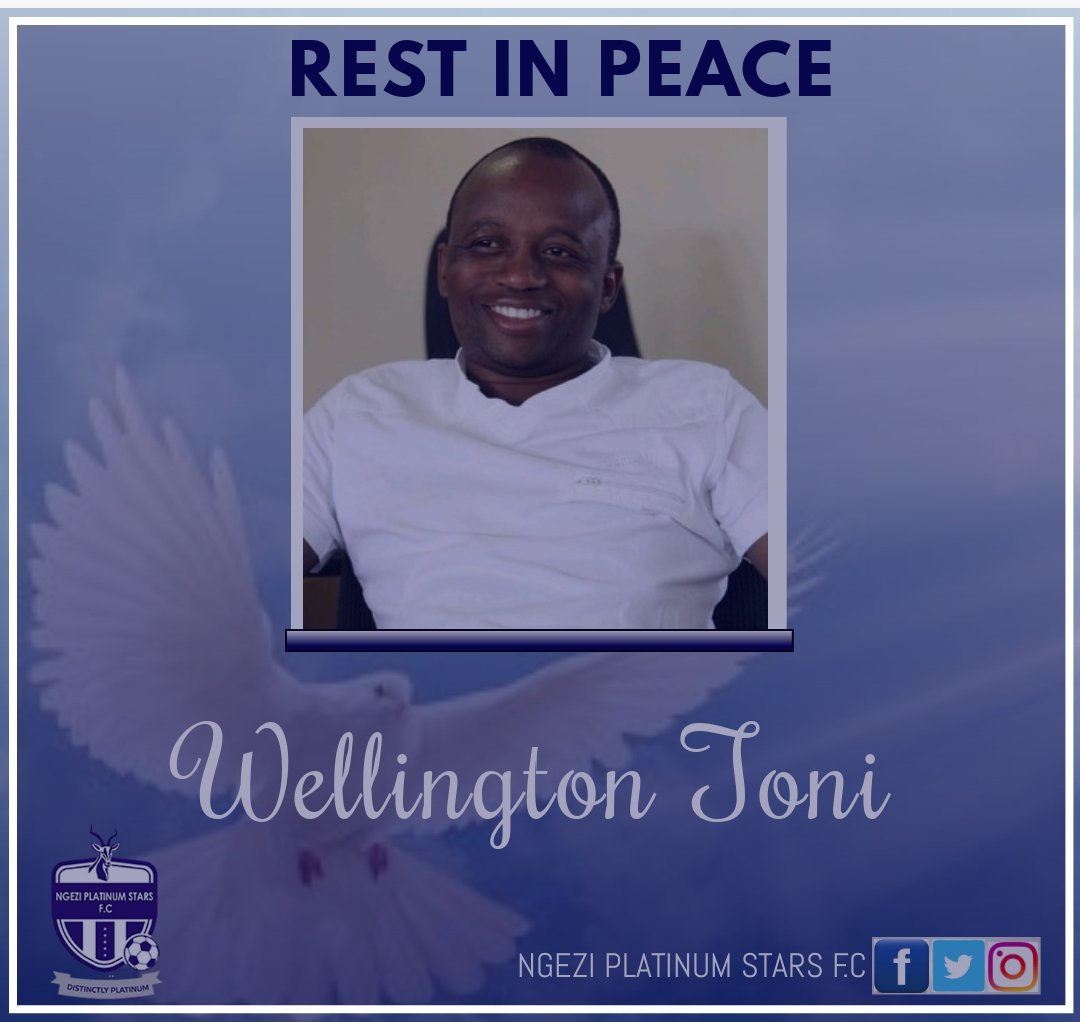 🚨CONDOLENCES Rest in Peace , Wellington Toni A renowned sports journalist , a good man. Our heartfelt condolences to his family and friends. #RIPToni