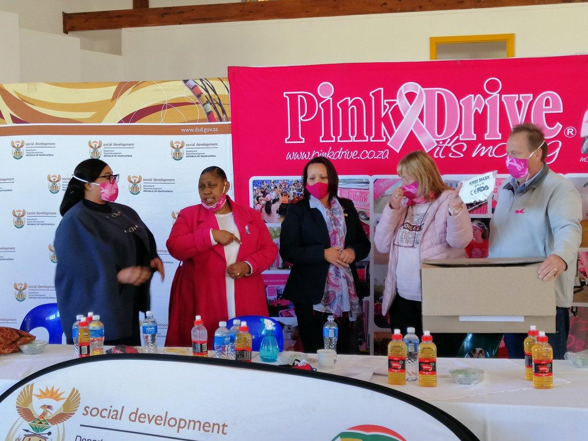 Thank you @PinkDriveNoels  @The_DSD @OfficialSASSA @nda_rsa  @NCProvGov @SA_AIDSCOUNCIL #womensmonth2020 #EarlyDetection #CheckImpilo https://t.co/hf7c9vpwCq