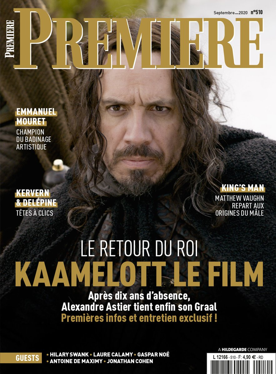 Retrouvez notre entretien exclusif avec Alexandre Astier (@AAstierOff) pour #KaamelottLeFilm, en kiosque mercredi 26 août (et à partir de ce week-end dans la boite à lettre des abonnés) ! https://t.co/377M7zVbI3