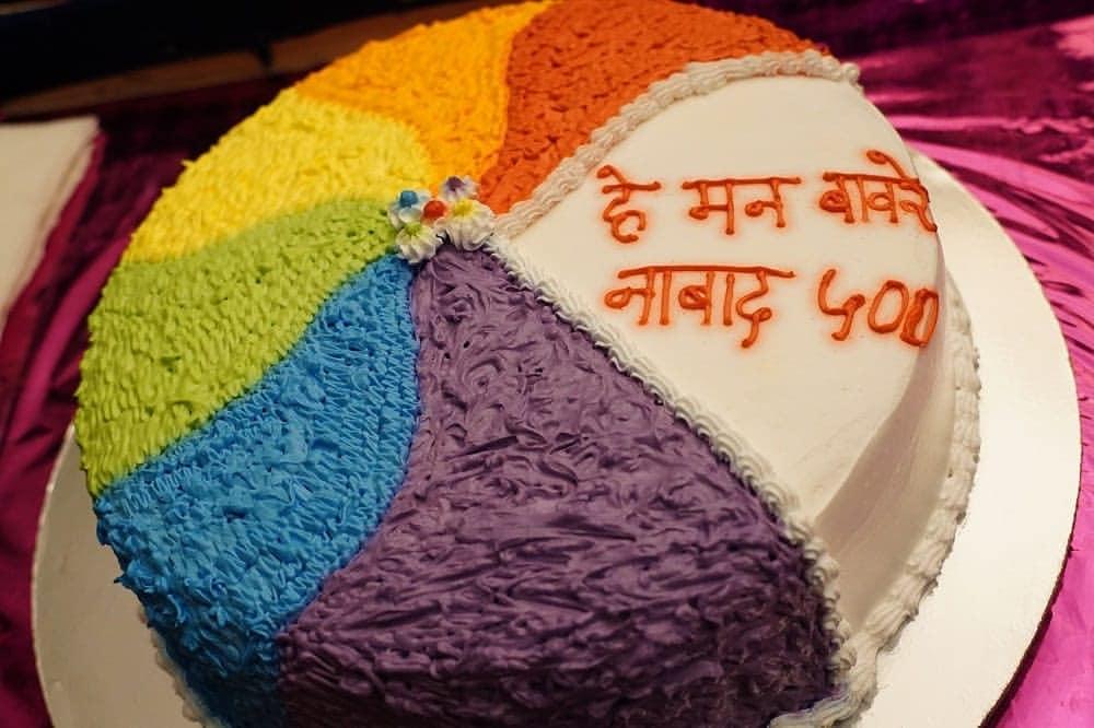 """हे मन बावरे"" ह्या मालिकेचे ५०० भाग पूर्ण.... #hemanbaware #500episodes #notout #anu #siddhartha #shashankketkar #mrunaldusanis #sharmishtharaut #serial #picoftheday #photooftheday #marathifc #marathi #bhyp #promoters28  @shashank_ketkar @dusanismrunal @RautSharmishtha @MandarrD https://t.co/r56m0XxA0R"