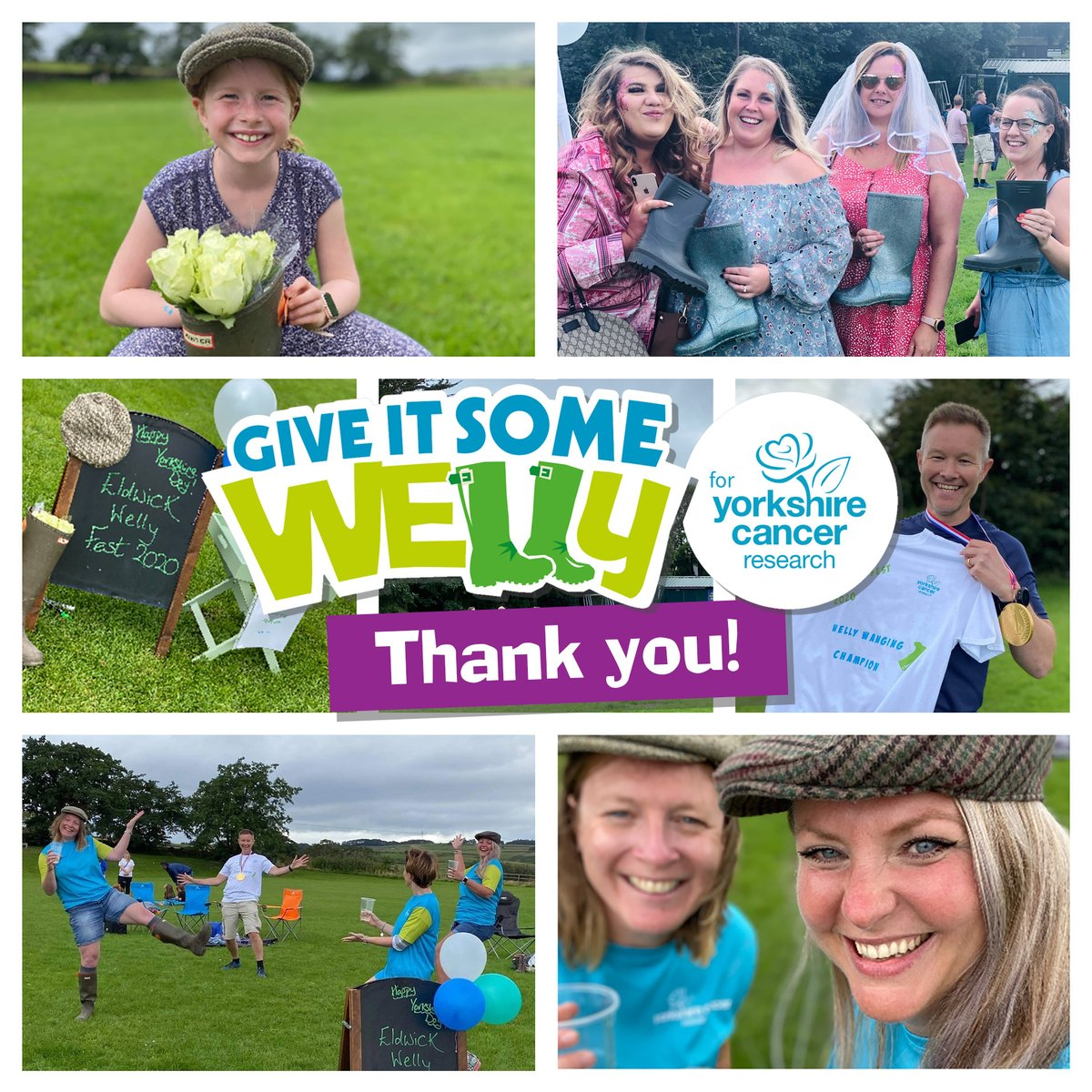 We couldn't have raised life changing funds for our Give it Some Welly campaign if it wasn't for the support of all our fundraisers. Eldwick Welly Fest,  run by a small group of local mums, raised an astonishing £1,236! Thank you so much for your generosity.  #GiveItSomeWelly