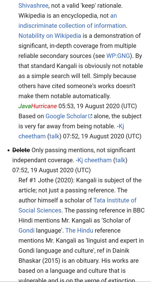 Who gets to decide who is 'notable' enough for #Wikipedia? Adivasi communities have undergone centuries of marginalization and erasure. To discount this fact and delete the Wiki pages of the few celebrated personalities who have been documented is pure dogmatism. https://t.co/3zPDTDT719