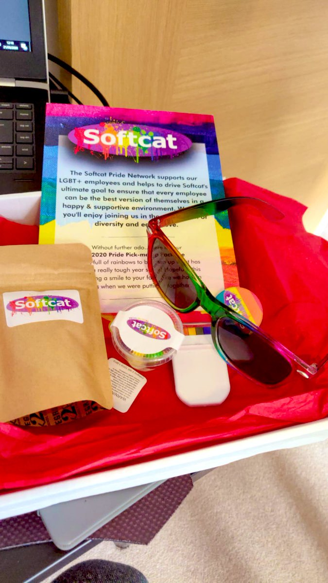 test Twitter Media - Thanks @softcat for the goodies. Love the glasses! #pride https://t.co/Iak0KGlQtm