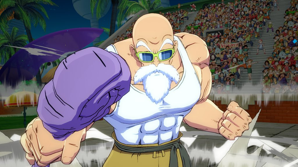 Bandai Namco Us On Twitter New Master Roshi Screenshots Get Ready To School Your Opponents When Master Roshi Joins Dragonballfighterz This September Will You Be Adding The Turtle Hermit To Your Team