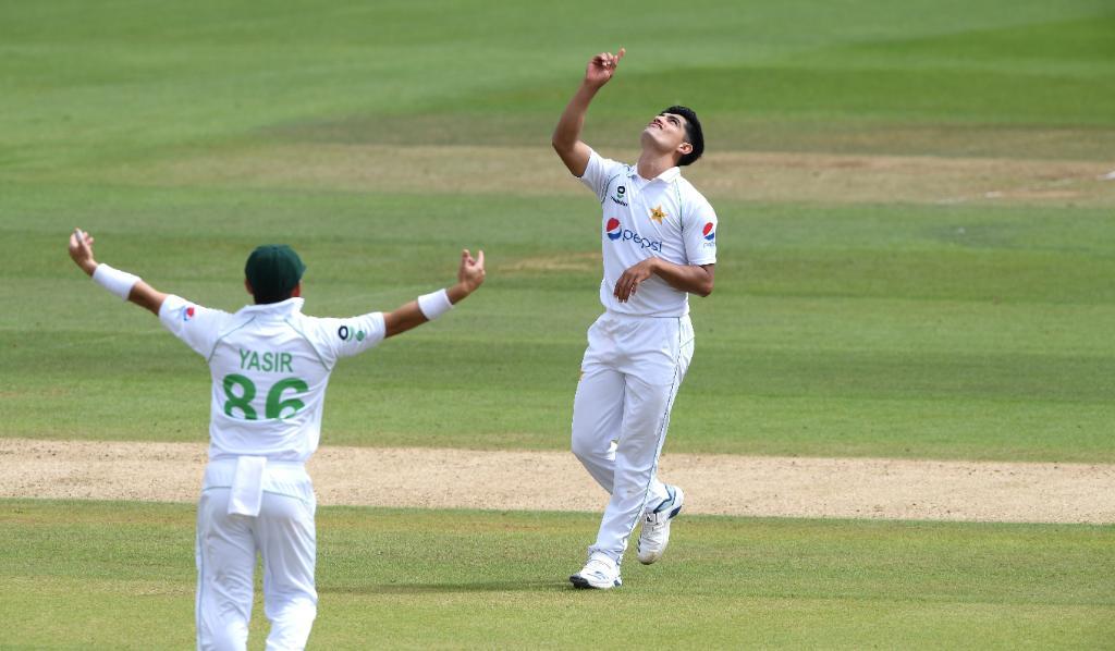 Naseem Shah-Pakistan fast bowler- England vs Pakistan 2020
