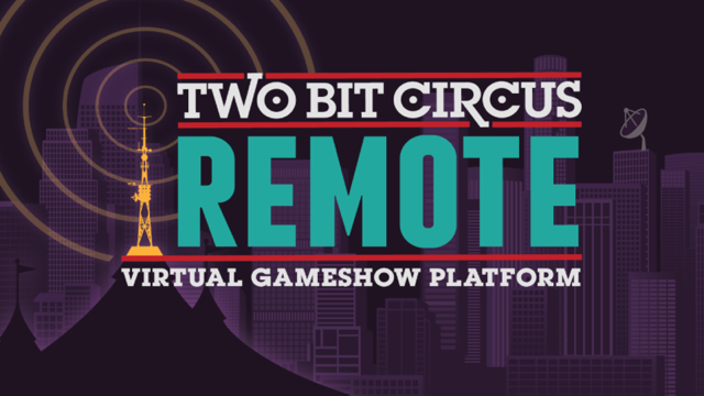 While @TwoBitCircus has been in quarantine, they've built a platform of customizable games to interact w/ your friends, loved ones & colleagues. Have a good laugh from anywhere in the world & RSVP for their 8/26 showcases: 3PM:https://t.co/WEM73mfrTx 7PM:https://t.co/2ouQQjjXtI https://t.co/in2ouJ8RUb