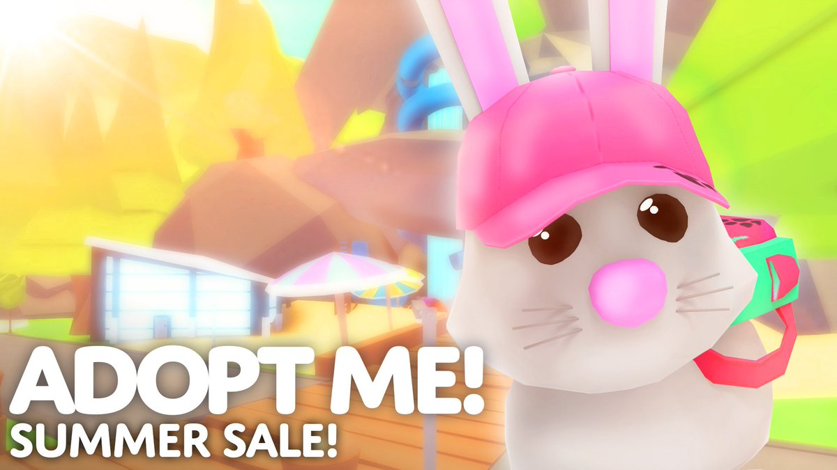 Adopt Me On Twitter Staycation Summer Sale 2x Bucks And Aging During The First Weekend Discounts On Pets Potions Vehicles Bucks And More Staycation Sale Ends On