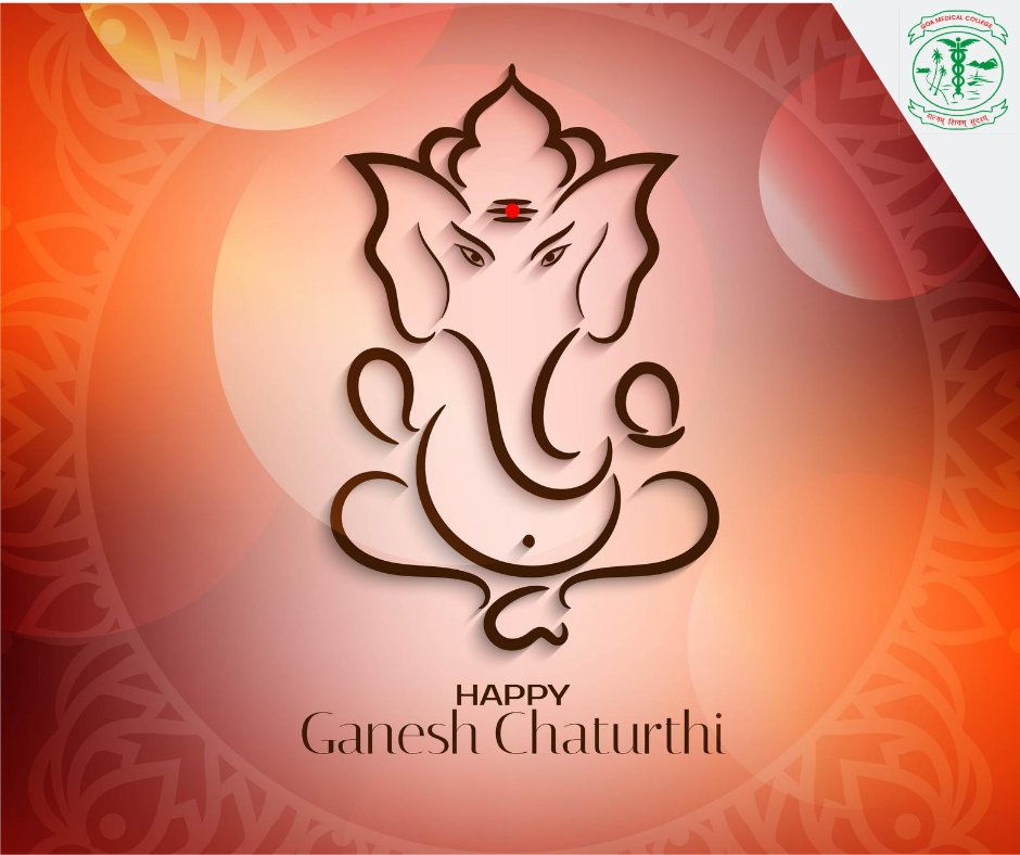 May the auspicious festival of Ganesha shed a ray of hope, happiness on you and your family.   We at Goa Medical College & Hospital extend heartfelt wishes to you all on #GaneshaChaturthi https://t.co/DxdLNmyULE