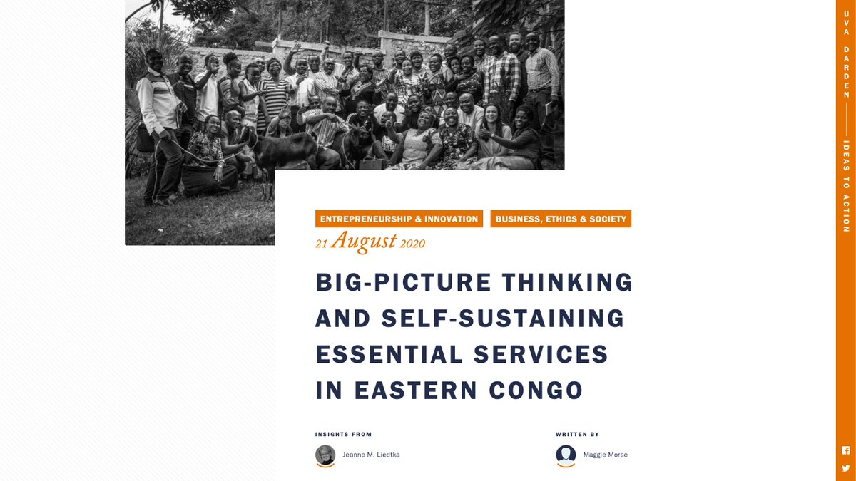 """""""Perhaps offering a new model for 21st-century NGOs, #Asili combines big-picture thinking & individual understanding,"""" writes Prof. @jeanneliedtka. """"It models a kind of partnership … that puts local communities, rather than funders, at the center."""" https://t.co/G1HSFHLHT6 https://t.co/OjFoQEIp51 https://t.co/syaMscvTCl"""