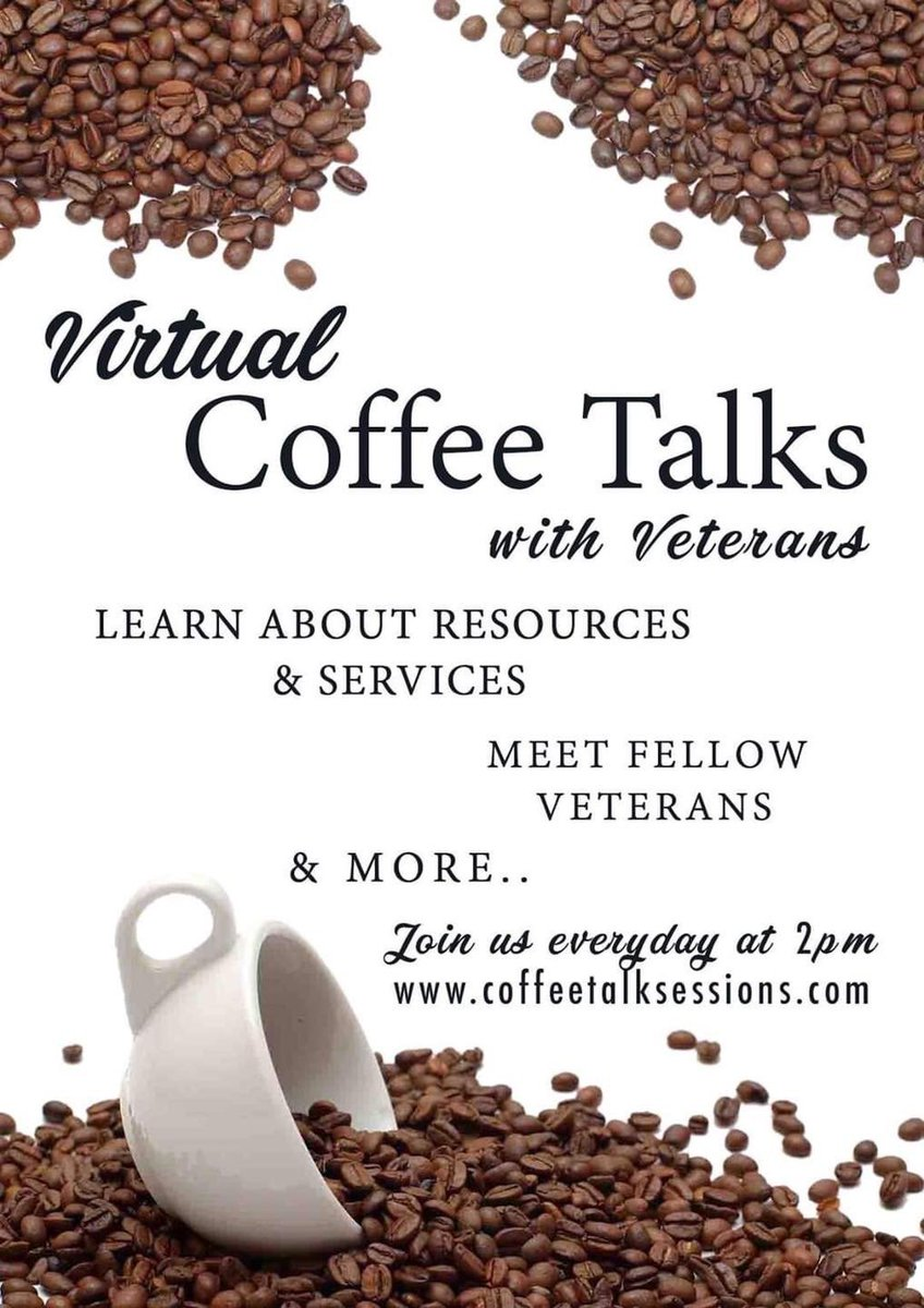 Are you a veteran looking to learn about local resources and services among fellow veterans?  If so, join the SAVE Team's daily Coffee Talks to discuss any questions you have about resources, services, and local veterans organizations!  #save #massachusettsveterans https://t.co/QG14H6N8BR