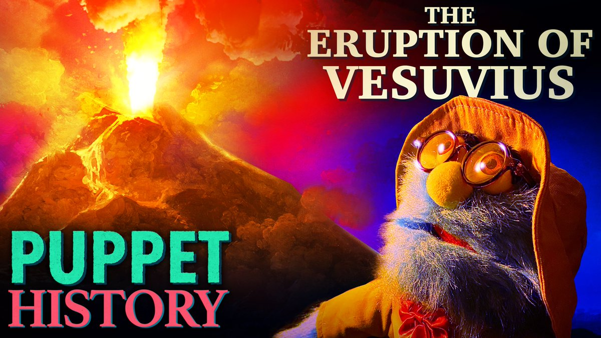Bring your pillows! It's time to learn about the terrifying eruption of Mt. Vesuvius https://t.co/QgHznYZ4gq https://t.co/wghRIXLi98