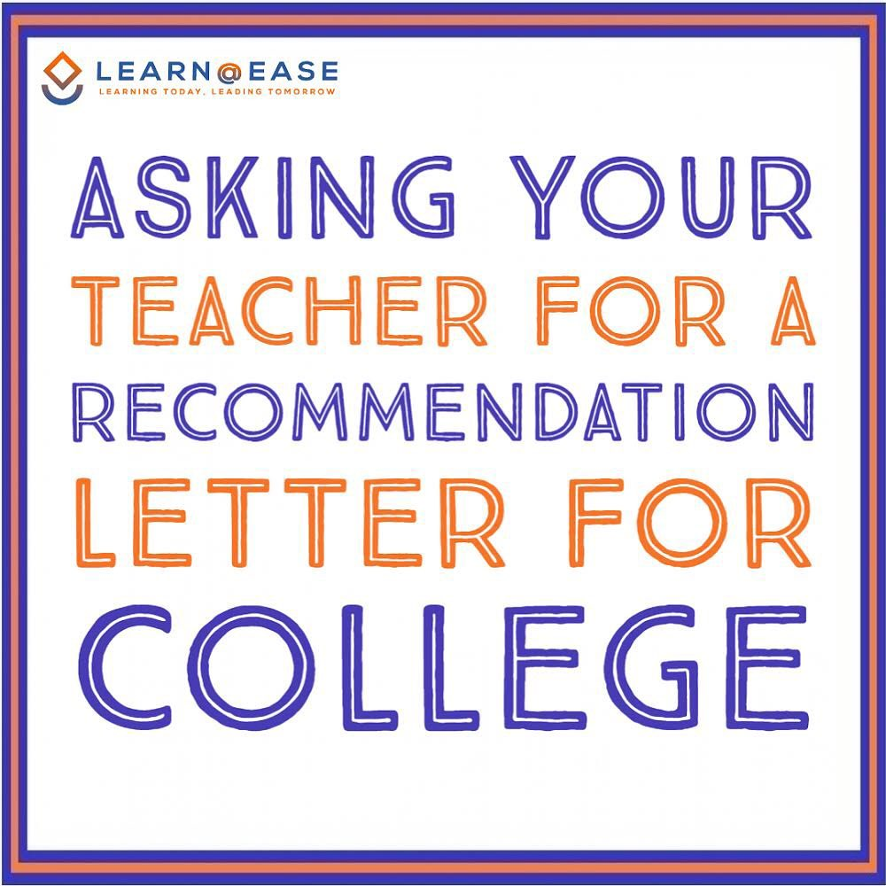 Some tips for rising 12th graders when asking for #recommendationletters!   Repost https://t.co/U8rmLB3pOE on Instagram. #collegeprep #collegeadmissions #collegecounseling #collegetips #highschoolgrad #college2020 #college2021 https://t.co/7TUiqXIuvO