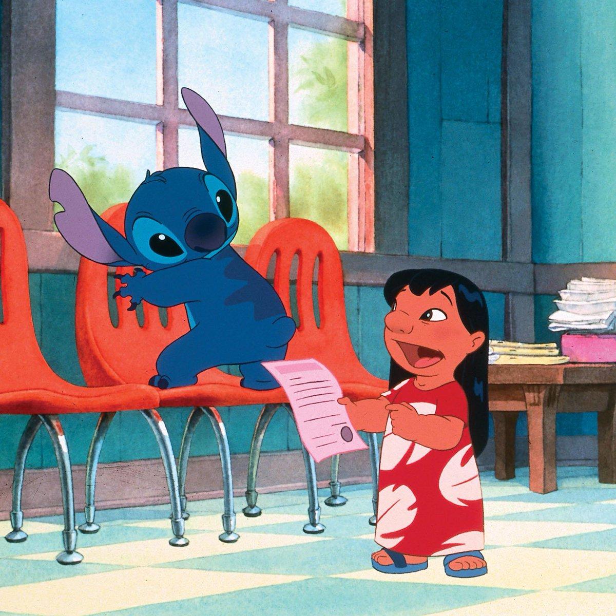 """""""Il s'appelle Stitch !"""" #LiloetStitch https://t.co/qrcJjLnD1F"""
