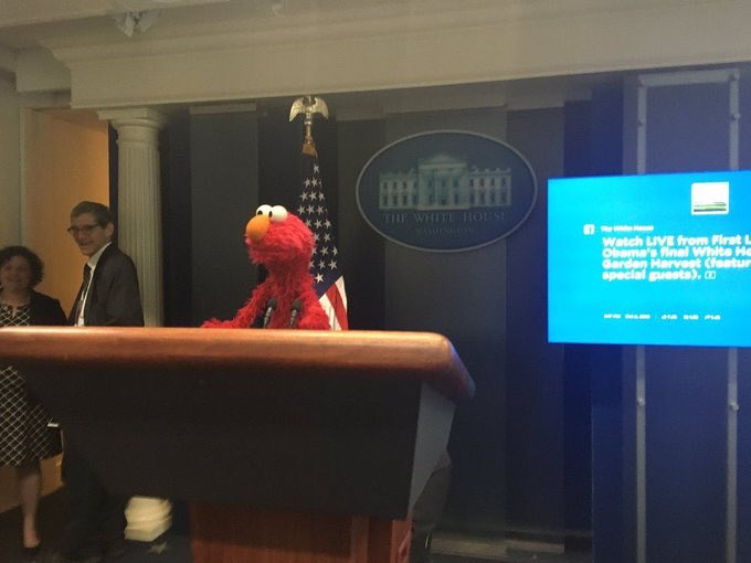 press secretary elmo says help #GOTV for progressive candidates up on August 11th pic.twitter.com/hYpURG0QT5