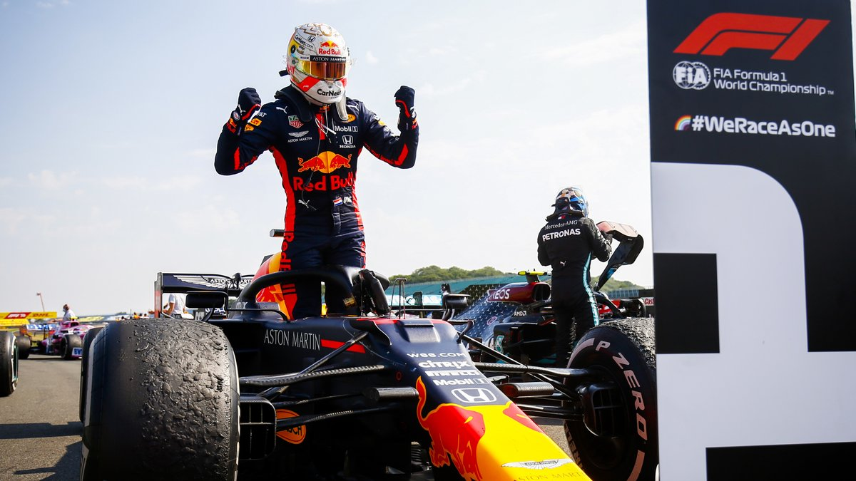 💪 @Max33Verstappen beat @MercedesAMGF1 fair & square at #F170! What a drive it was by the Dutchman #F1 https://t.co/DDQAggjE7Q