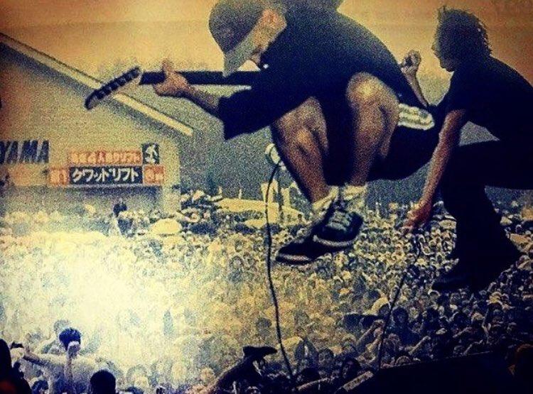 #SundayFunday #RATM at Mount Fuji, Japan. https://t.co/YY1yeVPQ51
