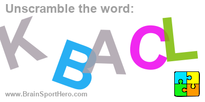 Unscramble the letters and find the correct word? K B A C L. #puzzle #indiedev #brainteasers #brainsport https://brainsporthero.com/unscramble-solution/?e=FlOPVRRtDlOZ&a=DxkOD0f%3Q…pic.twitter.com/ok5OJnbxrC