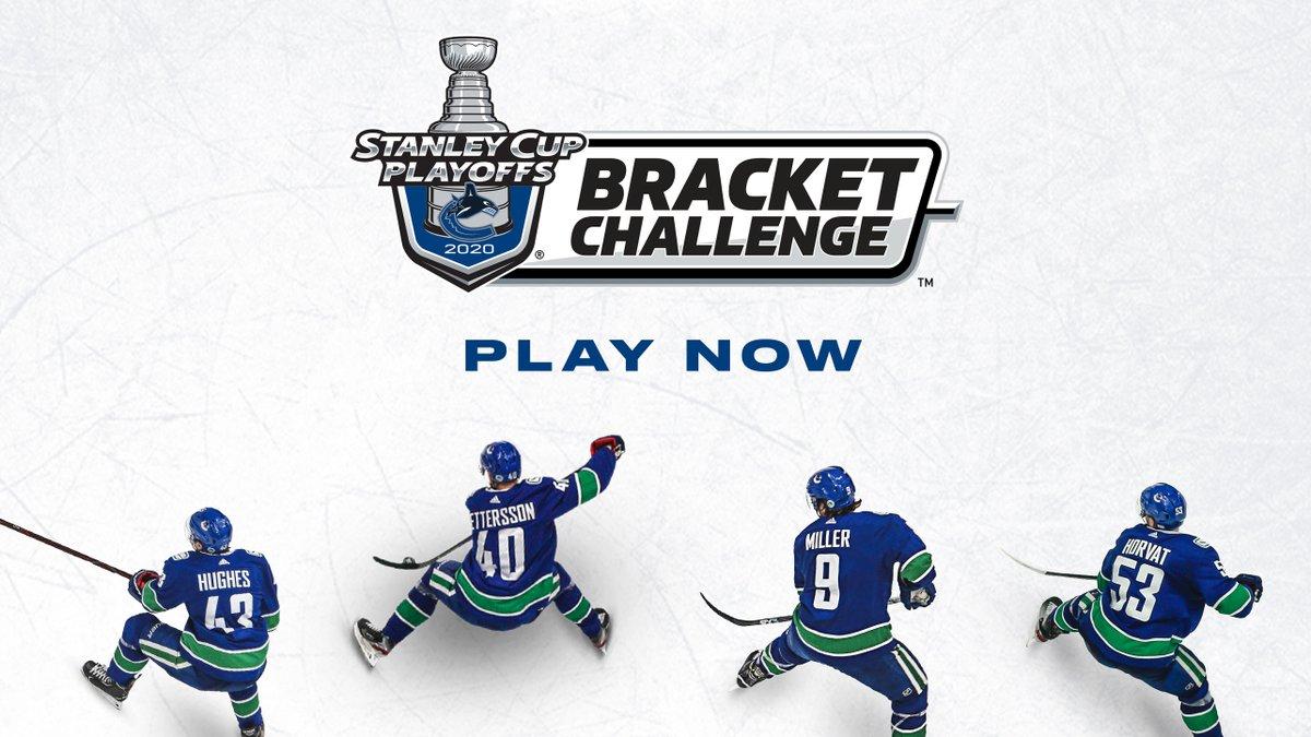 Who you got? 🤔 Register to make your #NHLBracket Challenge picks ➡️ nhl.com/CanucksBracket