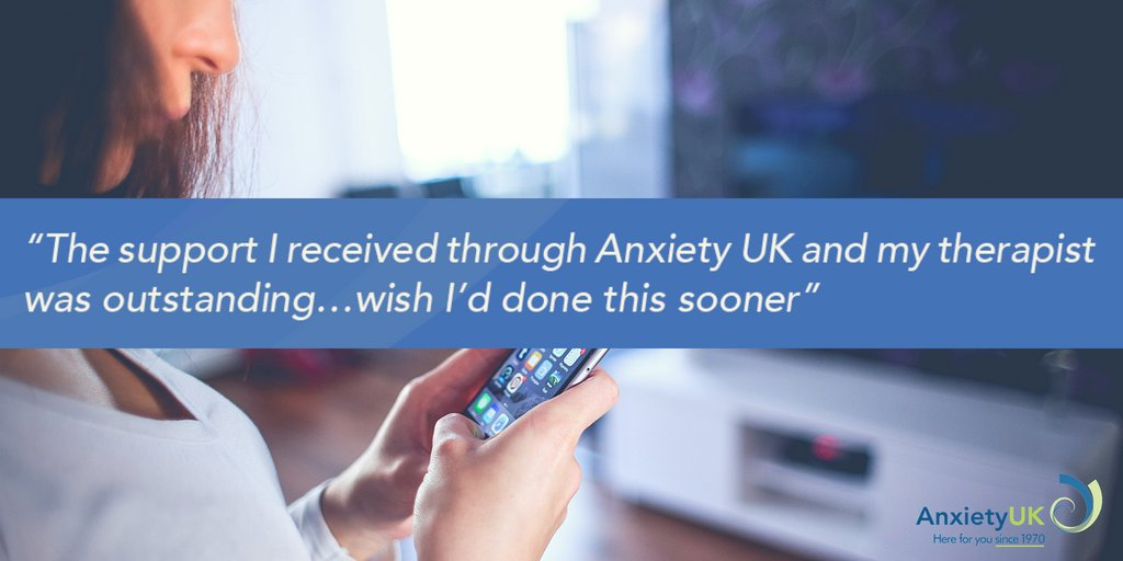We have a diverse range of over 400 Anxiety UK #Approved #Therapists, with the aim of meeting as many different needs as possible. To help you manage #anxiety access #telephone or online #counselling or #CBT through Anxiety UK here: https://www.anxietyuk.org.uk/get-help/access-therapy/…pic.twitter.com/TW5UrJAgwu