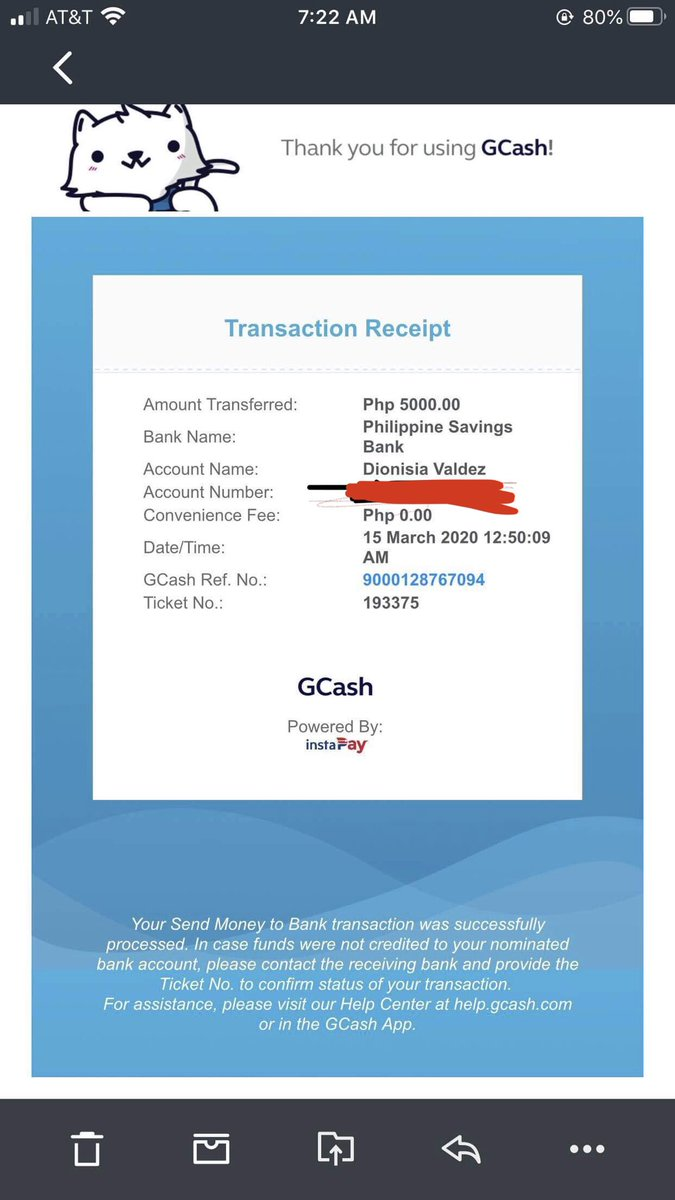 I want my money back! 5K is not just 1 or 2 pesos. I need it back and I won't ever use your gcash app. Transaction receipt and Gcash transaction history are all legit from your app. Don't tell me you can't access transaction from March 15?! @gcashofficial #gcashsucks #gcashscampic.twitter.com/hgtW4n2Y3V