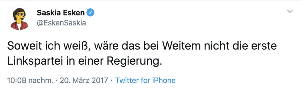 RT @Ruebenhorst: Wo sie recht hat, hat sie recht. https://t.co/zP04eEfoBu