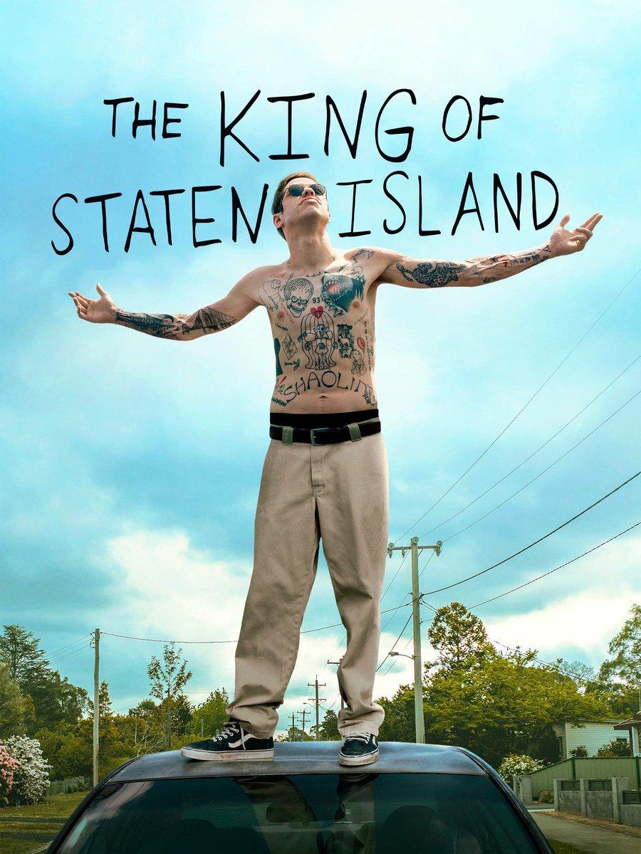 The King of Staten Island  Lo más reciente de Apatow, quien como de costumbre transparenta a sus personajes en medio de la risa que provocan sus historias.   En compañía de Davidson, con esta casi biográfica historia suya, hace un trabajo sumamente entretenido y cálido. https://t.co/2qL6KpgHoZ