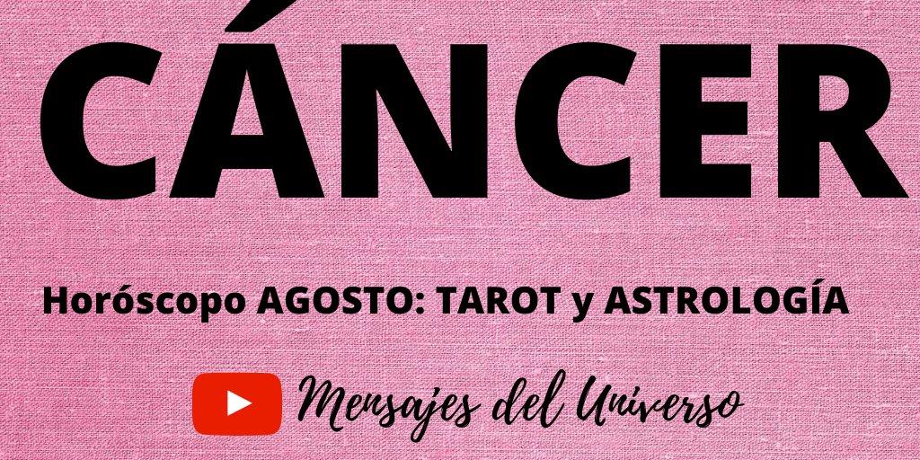 #Cancer Astrología y Tarot Agosto 2020 Puedes verlo aquí: https://youtu.be/yNkE29ZXfjE a través de @YouTube #cancer #cancerseason #horoscopos #tarotwriter #tarotista #tarotonline #astrology #zodiacopic.twitter.com/q3T8YrZDCZ