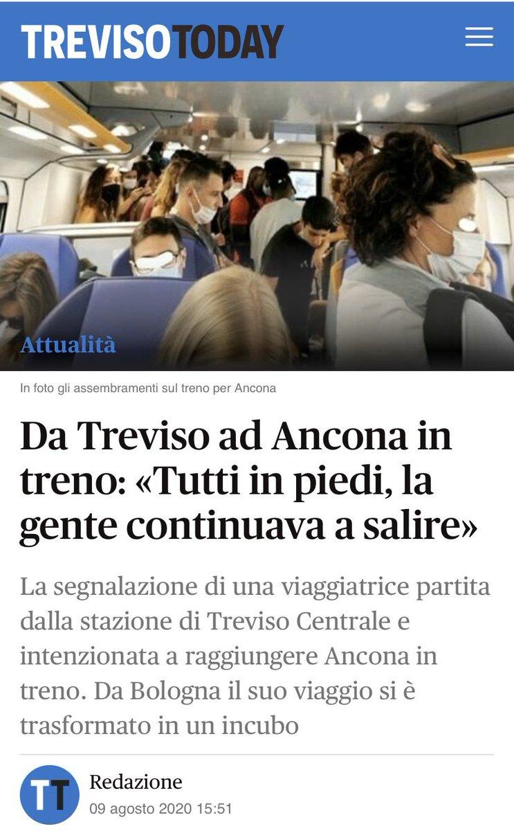 RT @SandroTaverna1: Tratta Treviso -Ancona scene d...