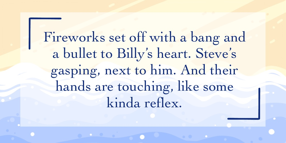 Support our Kickstarter - Link in Bio!  Here is another snippet sneak peek from our wonderful creators!  Today's snippets were created by awickedplacethisis (tumblr) and @mr_repellent. Check them both out!  #strangerthings #harringrove #steveharrington #billyhargrove pic.twitter.com/fwfHRvUlA0