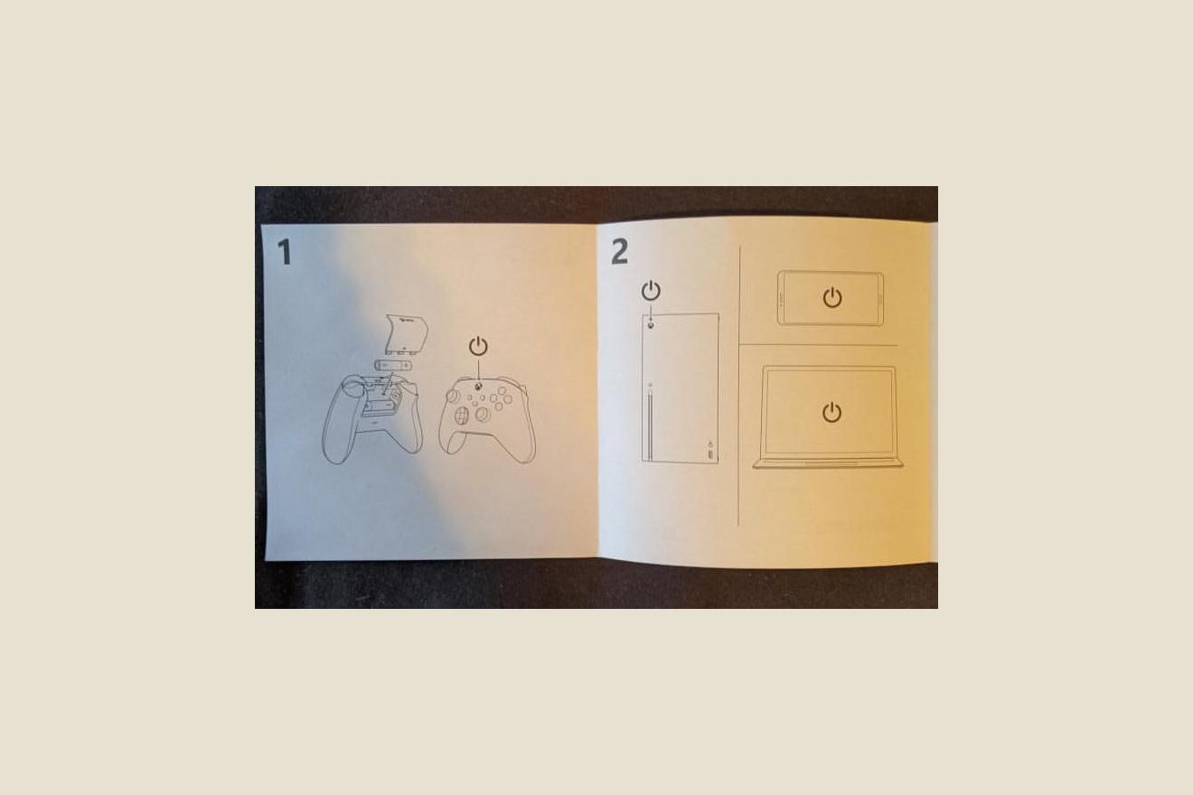 Xbox Series S White Joystick Manual