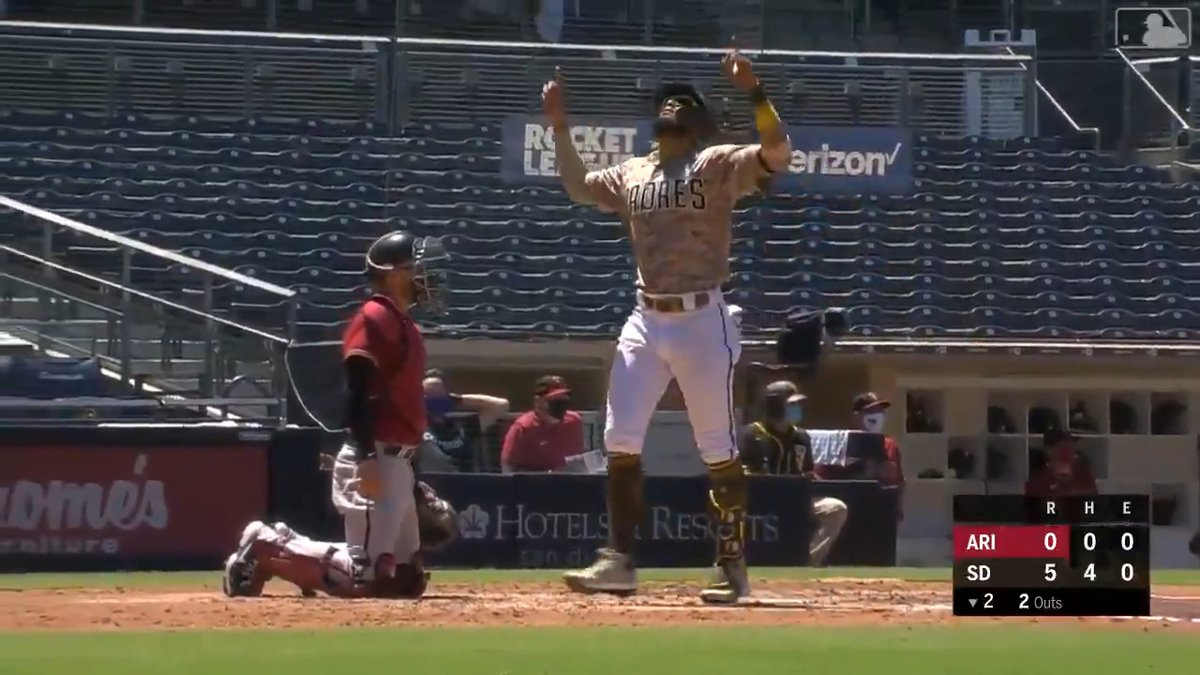 Tatis Jr. off to a brilliant start after a superb rookie campaign. MLB has a new great young star for an exciting young club—with great unis too.