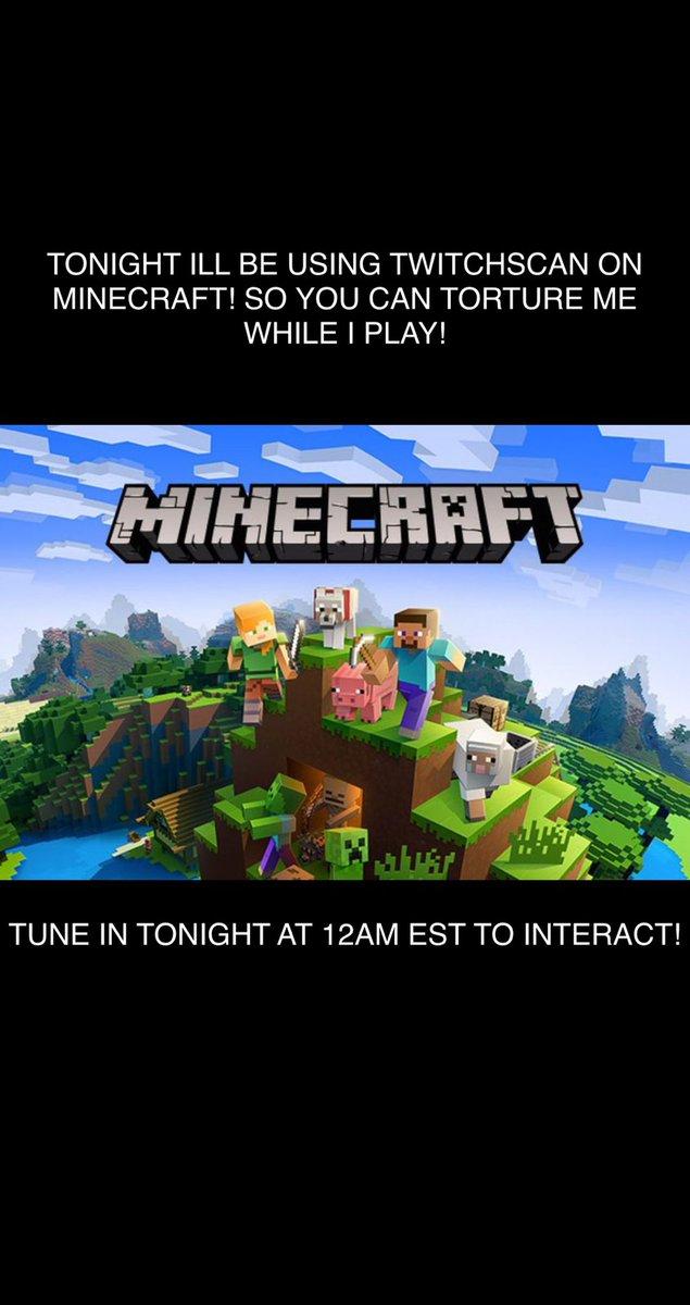 TUNE IN TONIGHT TO TORTURE ME!  https://twitch.tv/badmaintenance #Minecraft #twitchtv #streamer #minecraftmemes #funpic.twitter.com/mAnQdDffzk
