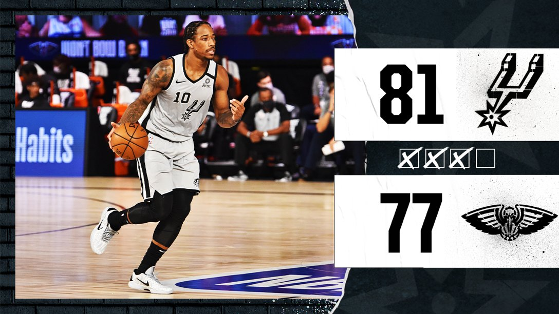 Time to finish strong!  📺 @FOXSportsSW, ABC https://t.co/13LHWUdpw7