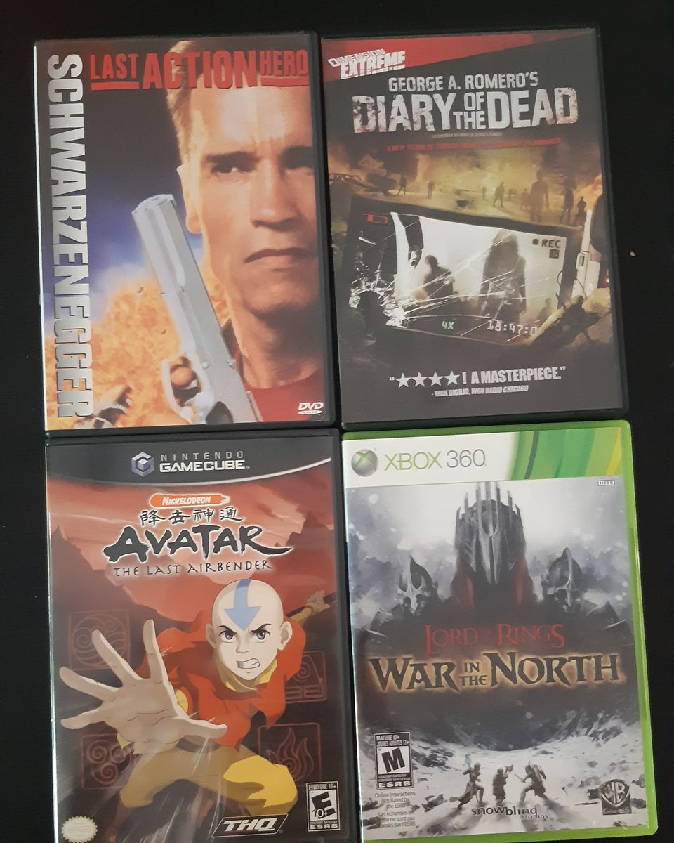 Couple of grabs from the #fleamarket today.  #DVD #VideoGamespic.twitter.com/prsvKj7doU