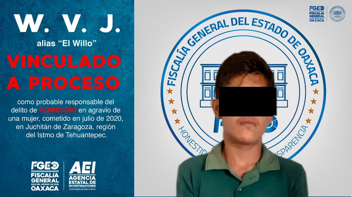 Logramos aprehender y vincular a proceso a otro probable homicida de una mujer; hechos cometidos en Juchitán de Zaragoza  Da click aquí : http://periodismopixel.com/logramos-aprehender-y-vincular-a-proceso-a-otro-probable-homicida-de-una-mujer-hechos-cometidos-en-juchitan-de-zaragoza/…  #Oaxaca @FISCALIA_GobOax #Policiaca #Estatal #Noticiaspic.twitter.com/lSe0R5L0pD